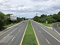 2020-08-03 15 55 25 View east along Maryland State Route 150 (Eastern Avenue-Boulevard) from the overpass for Interstate 695 (Baltimore Beltway) in Dundalk, Baltimore County, Maryland.jpg