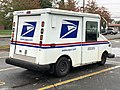 2020-10-28 11 11 20 Right-rear side of a USPS Grumman LLV in Edison Township, Middlesex County, New Jersey.jpg