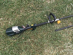 Brushcutter (garden tool) - The power unit of a 240V electric brushcutter