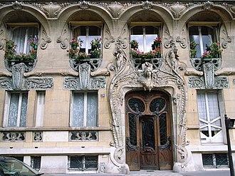 Lavirotte Building - Image: 29 avenue Rapp