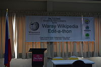 3rd Waray Wikipedia Edit-a-thon 17.JPG
