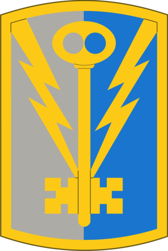 501st Military Intelligence Brigade (United States) - Shoulder sleeve insignia