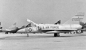 35th Air Division - Image: 52fg F106B 57 2523