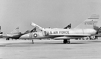 35th Air Division - Image: 52fg F106B 57 2523