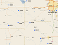 532d Strategic Missile Squadron - LGM-25C Titan II Sites.png