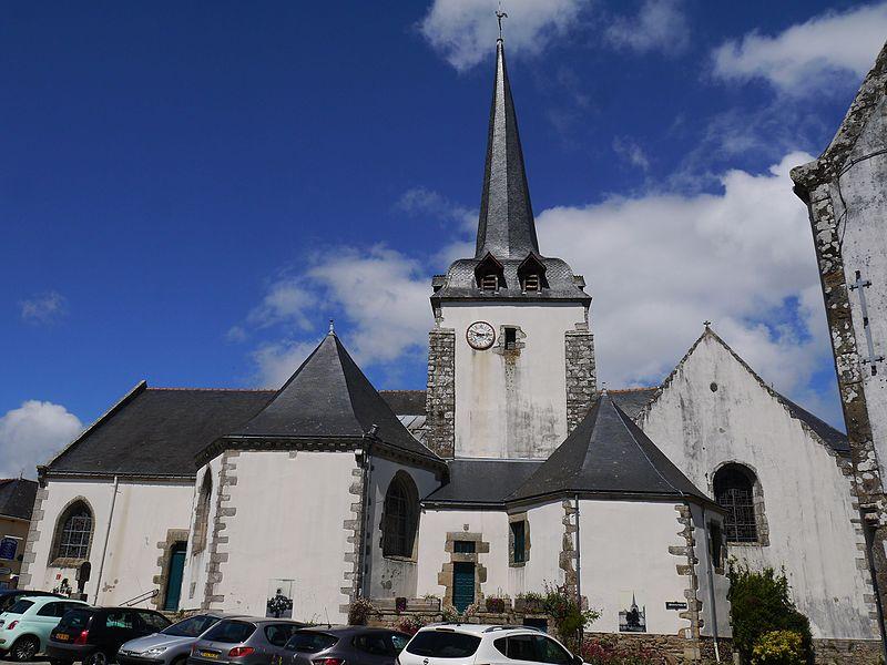 Vue générale de l'église.
