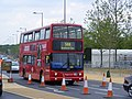 588 bus, Queen Elizabeth Olympic Park July 2013 (9378063767).jpg