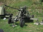 61-K anti-aircraft gun at the Muzeum Polskiej Techniki Wojskowej in Warsaw (1).JPG