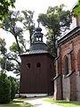 615928 pow. krakowski gm. Krzeszowice Zalas dzwonnica koscielna 04.JPG
