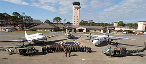 1st Special Operations Wing - Several aircraft of the 6th Special Operations Squadron