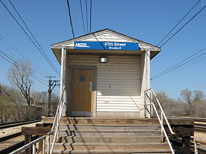87th Street (Woodruff) station - Image: 87th Street (Woodruff) Metra Station
