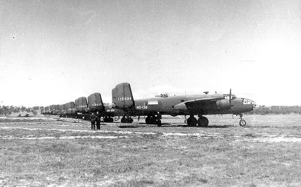 8th Bombardment Squadron - B-25Cs - Charters Towers