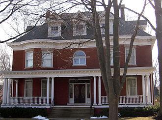 Joseph W. Fifer - The Fifer home in Bloomington, IL