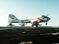 A-6E of VA-115 landing on USS Midway (CV-41) in 1984.JPEG