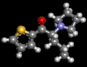 Alpha-Pyrrolidinopentiothiophenone - Image: A PVT