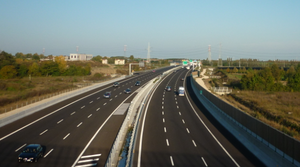 Autostrade of Italy - A4 Turin - Trieste