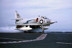 A4D-2 VA-72 launching from USS FD Roosevelt (CVA-42) 1959.jpg