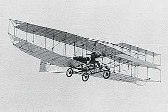 History of the Royal Canadian Air Force - Canada's first powered, heavier-than-air aircraft, the AEA Silver Dart took flight in 1909. The aircraft's military potential piqued the interests of some officers in the Department of Militia and Defence.