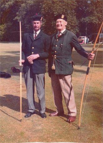 Angus Cunninghame-Graham - Image: AEMBCG as Archer
