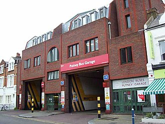 London General - Putney bus garage