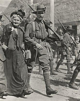 Battle of Bita Paka - Image: AN&MEF in Sydney before departure 1914 (AWM H11567)