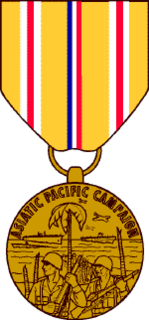 Asiatic–Pacific Campaign Medal military award