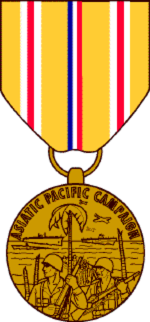 Asiatic–Pacific Campaign Medal - Image: ASPCFCM