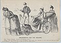 A Chiel Among Them (recto); Amusements for the Sea-side (verso) (Punch, or the London Charivari, September 20, 1873, pp. 113-14) MET DP875905.jpg