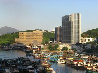 A Kung Ngam - A Kung Ngam and Shaukeiwan Typhoon Shelter.
