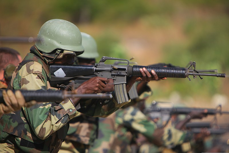 ... Marines assigned to Special Purpose Marine Air-Ground Task Force