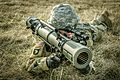 A Soldier tests the M3E1 Multi-role Anti-armor Anti-personnel Weapon System 04.jpg