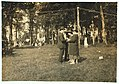 A Sunday afternoon 'pick-up' at Sandy Beach. Girls about 15. See 4184. LOC nclc.05032.jpg