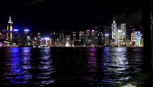 File:A View from the Star Ferry at night MVI 4953.ogv