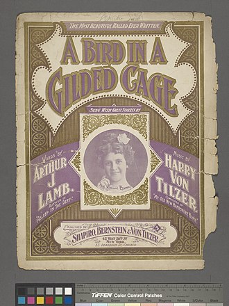 A Bird in a Gilded Cage - A Bird in a Gilded Cage (on cover: Mrs. Jimmie Barry)