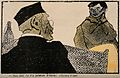A customer at a pharmacy makes a verbal gaffe when asking fo Wellcome V0011880.jpg