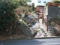 A hill-side rill disappearing beneath the A2 Kilkeel Road - geograph.org.uk - 1474075.jpg