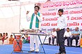 A live demo by the HP Gas Company, at the Public Information Campaign, in Armoor, Nizamabad district of Telangana state on January 09, 2016.jpg