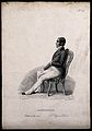 A man sitting erect on a chair; representing pride as a type Wellcome V0009473ER.jpg