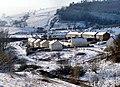 A walk in the snow - Danybryn, Gilfach Goch - geograph.org.uk - 1276319.jpg