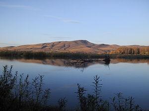 Abakan River - The Abakan River