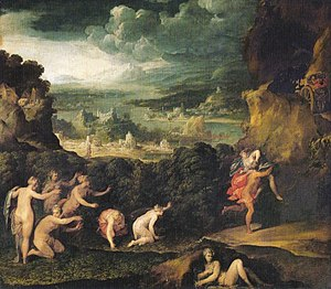 Niccolò dell'Abbate - Rape of Proserpine, Louvre