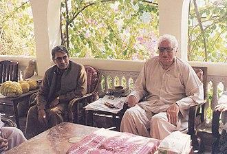Khan Abdul Wali Khan - Abdul Wali Khan with Kabir Stori