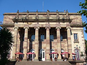 Opéra national du Rhin - The facade of the Strasbourg Opera House