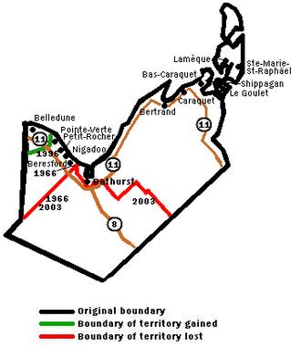 Acadie—Bathurst - Image: Acadie bathurst