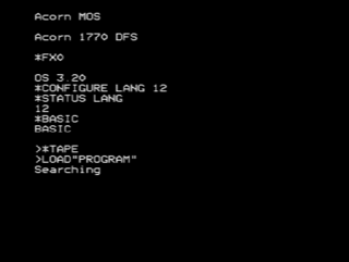 Acorn MOS Computer operating system