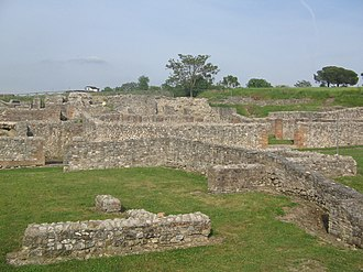 Campania - Ruins of the town Aeclanum.