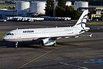 Aegean Airlines, SX-DVX, Airbus A320-232 (30338433168).jpg
