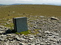 Aeroplane landing commemoration on Helvellyn.JPG