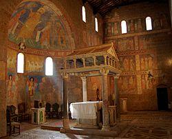 Castel Sant Elia Italia.Basilica Di Sant Elia Wikipedia