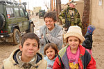 Afghan children and Norwegian forces in Balkh.jpg